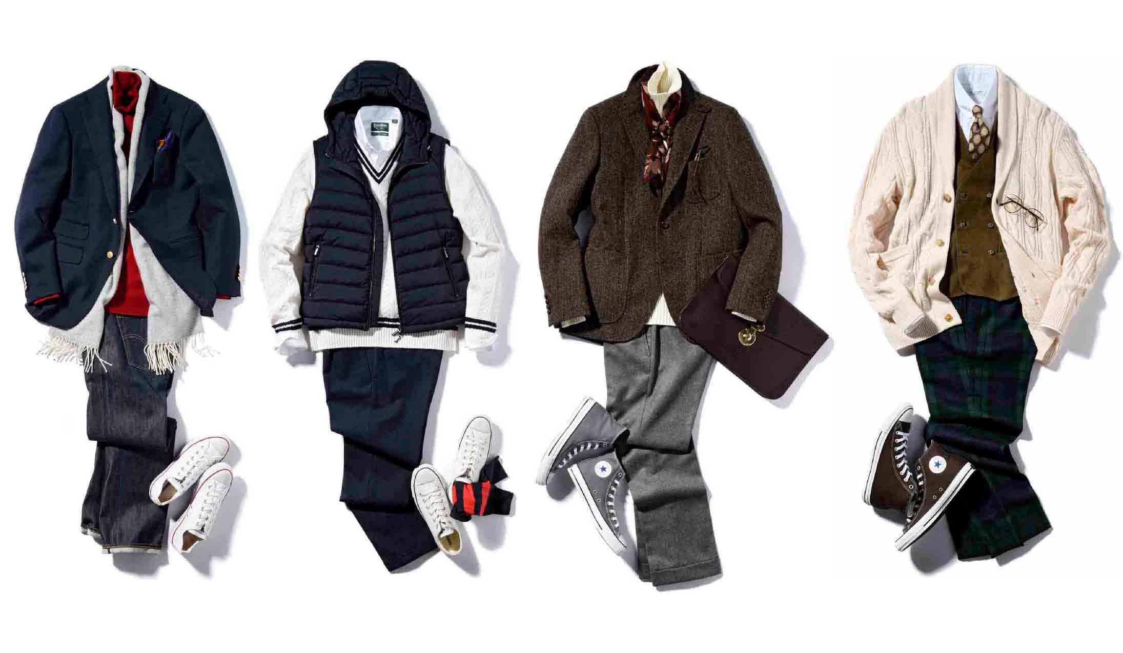 真似したい!40代男性を格好良くみせる冬のファッションまとめ