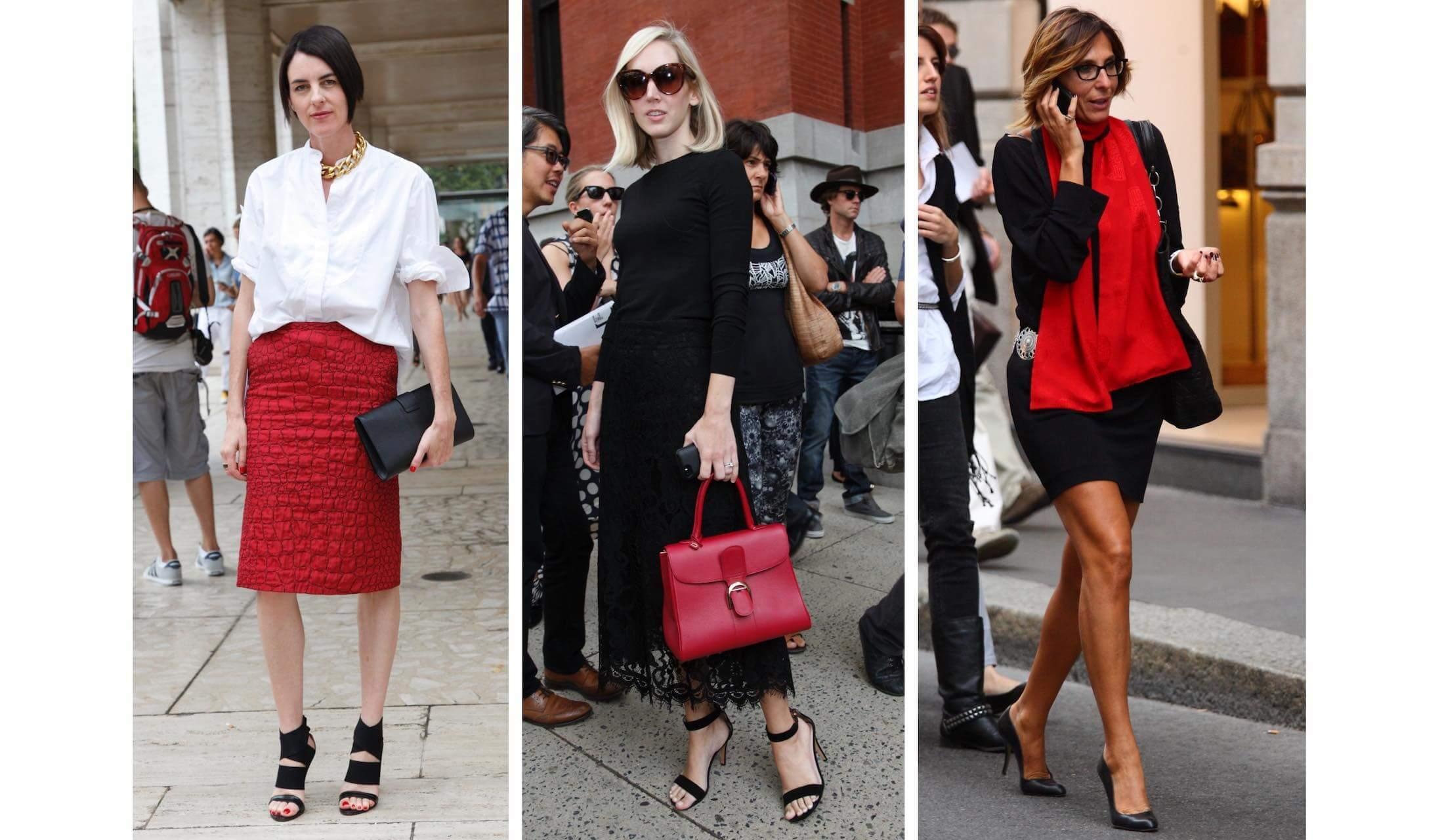 ミラノ&N.Y.マダムの着こなし 「鮮烈の赤」コーデ 10選