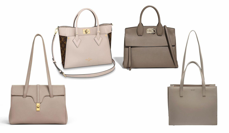 ルイ・ヴィトン、セリーヌ、サルヴァトーレ フェラガモ、ジョルジオ アルマーニのバッグ