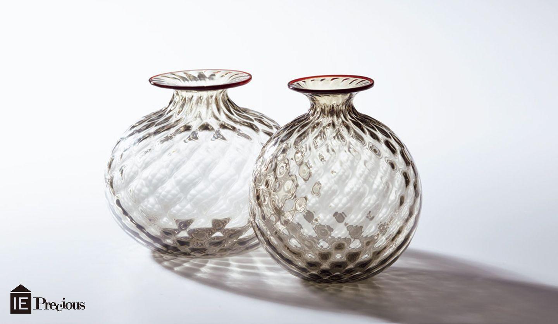 ヴェニーニのガラスのフラワーベース「モノフィオーリ・バロトン」