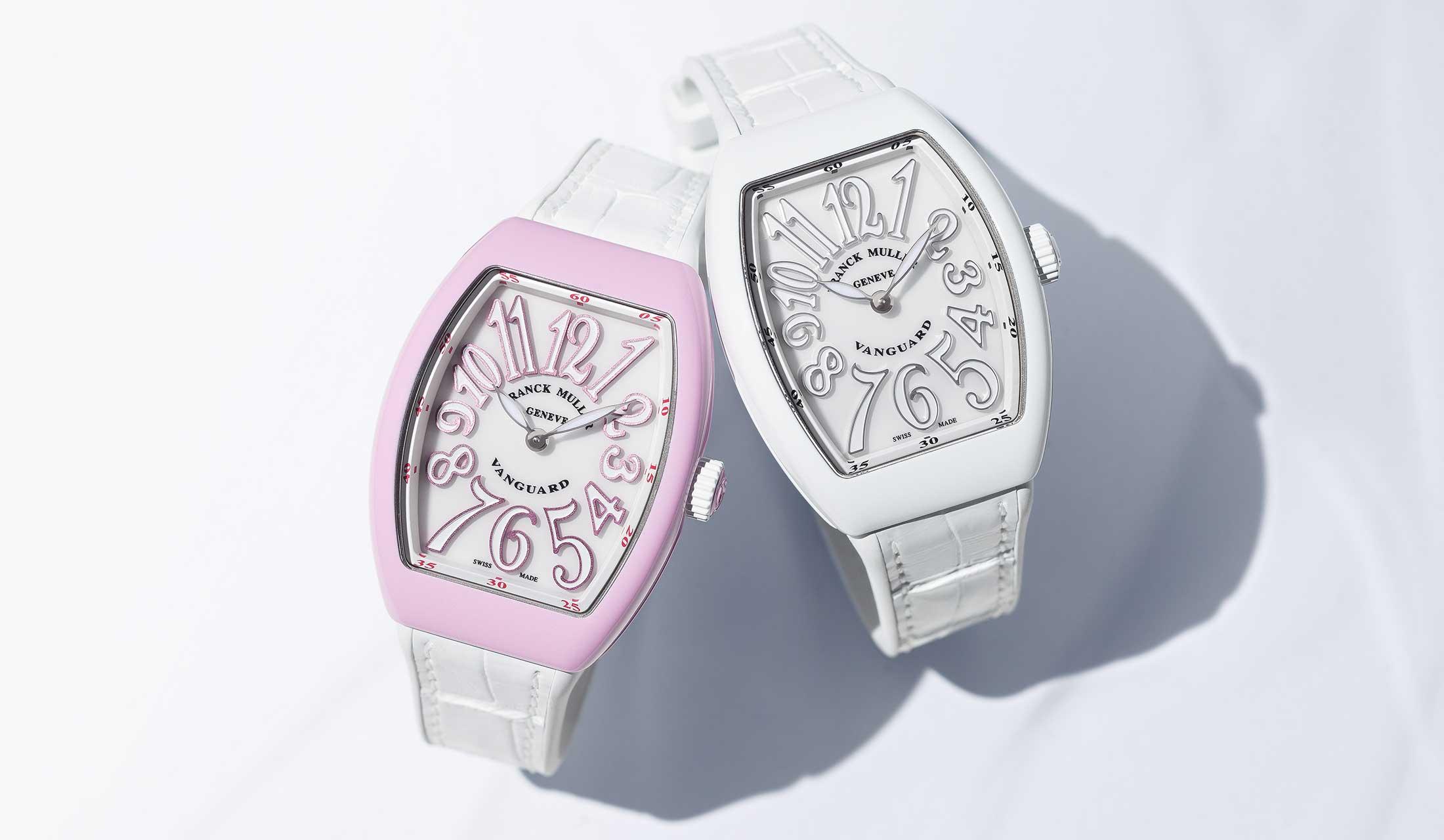 フランク ミュラーの新作時計「ヴァンガード レディ マイアミ デコ」