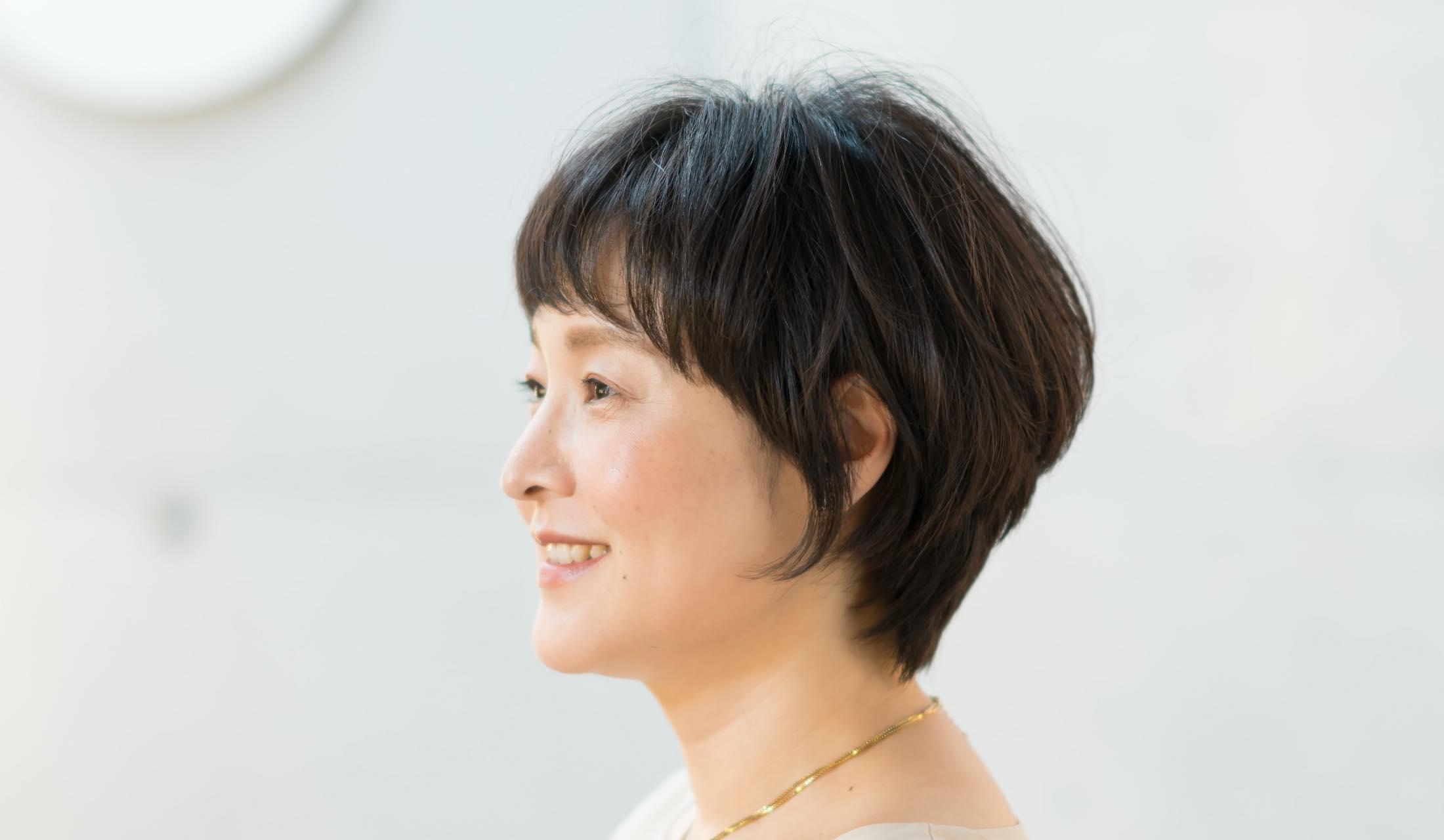 doubleのスタイリスト宮野幸一さんが切ったショートヘア