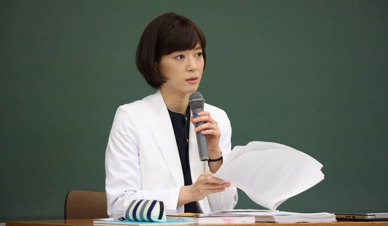 ©フジテレビ監察医朝顔上野樹里さん
