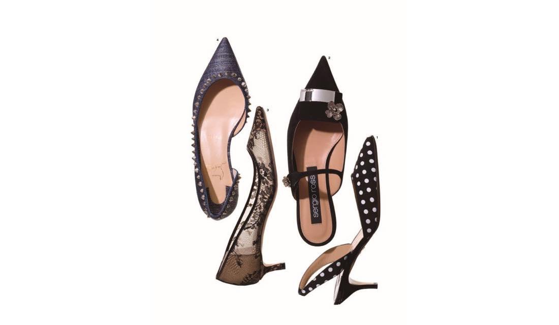 センシュアルポインテッド靴