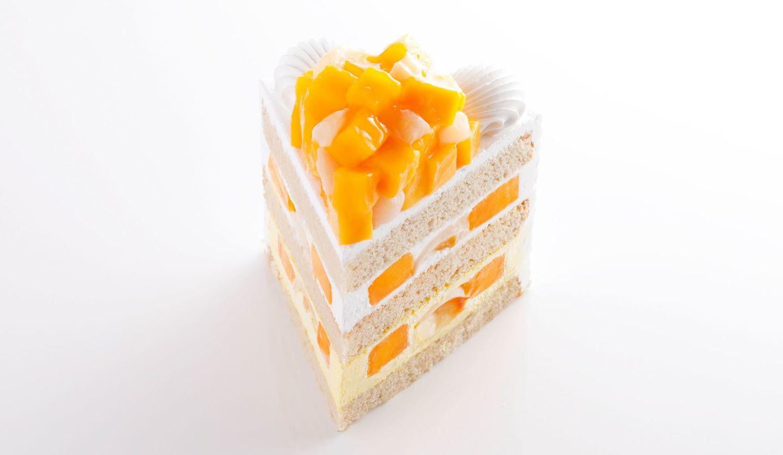 ホテルニューオータニ内、パティスリーSATSUKIの「新エクストラスーパーマンゴーショートケーキ」
