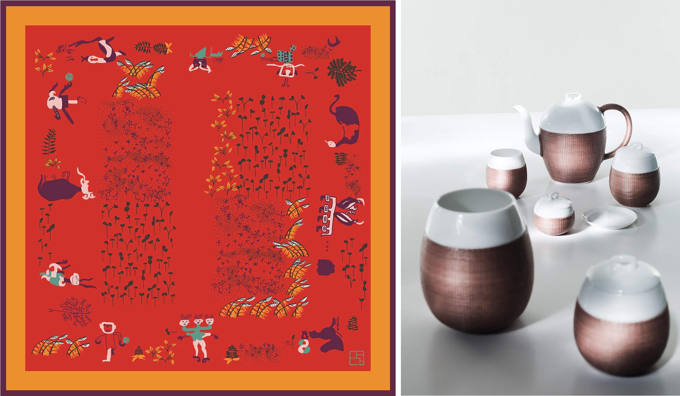 エルメスが立ち上げたライフスタイルブランド「シャンシア(SHANG XIA)」の商品イメージ