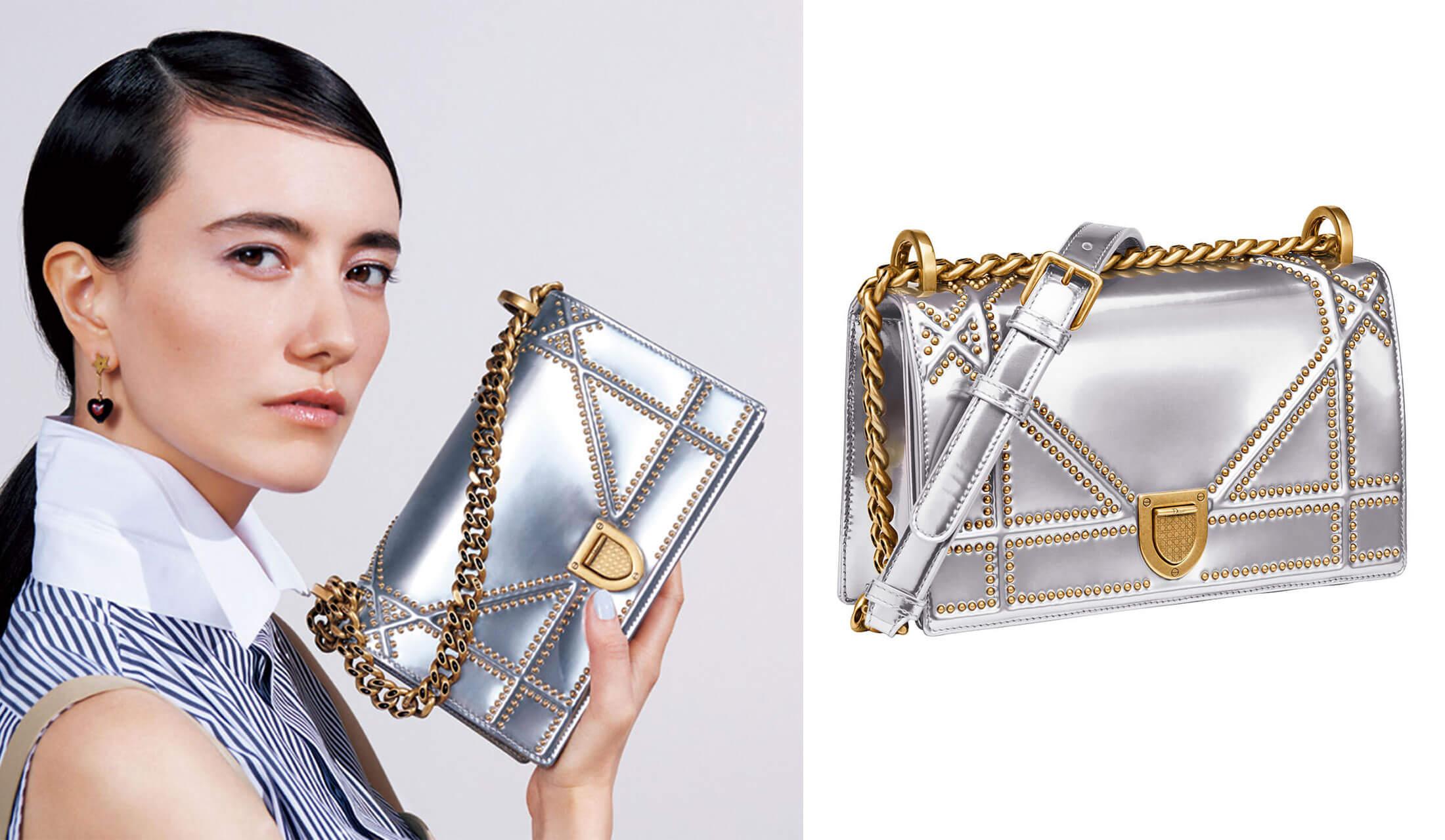 ディオール2018年春夏コレクションに登場した、「ディオラマ」の新作バッグ