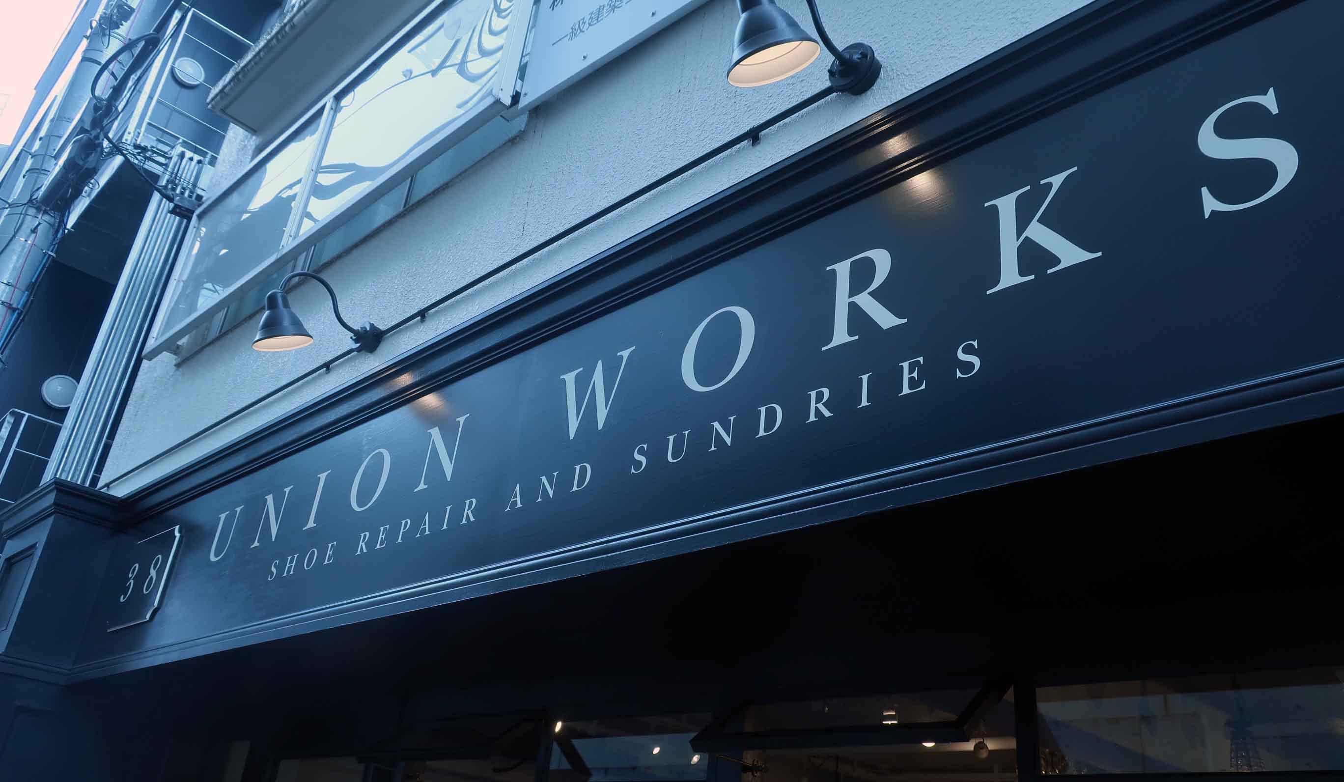 『UNION WORKS』青山店