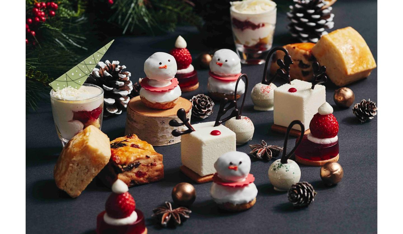 フォーシーズンズホテル京都「チョコレート&ストロベリー クリスマスアフタヌーンティー」