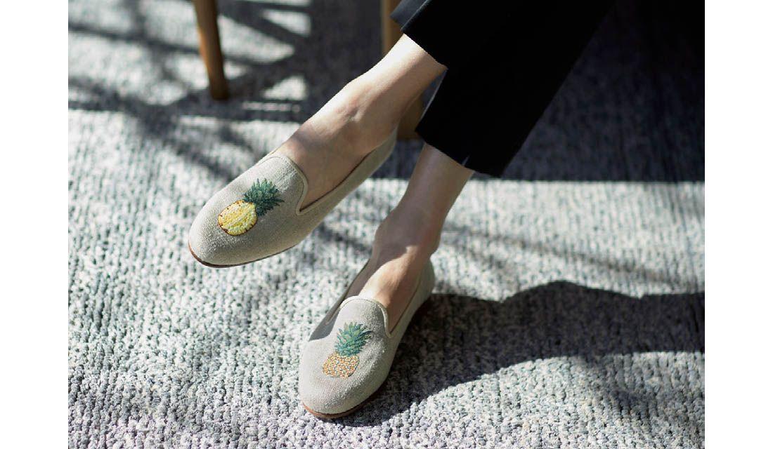 スタブス&ウートンの靴
