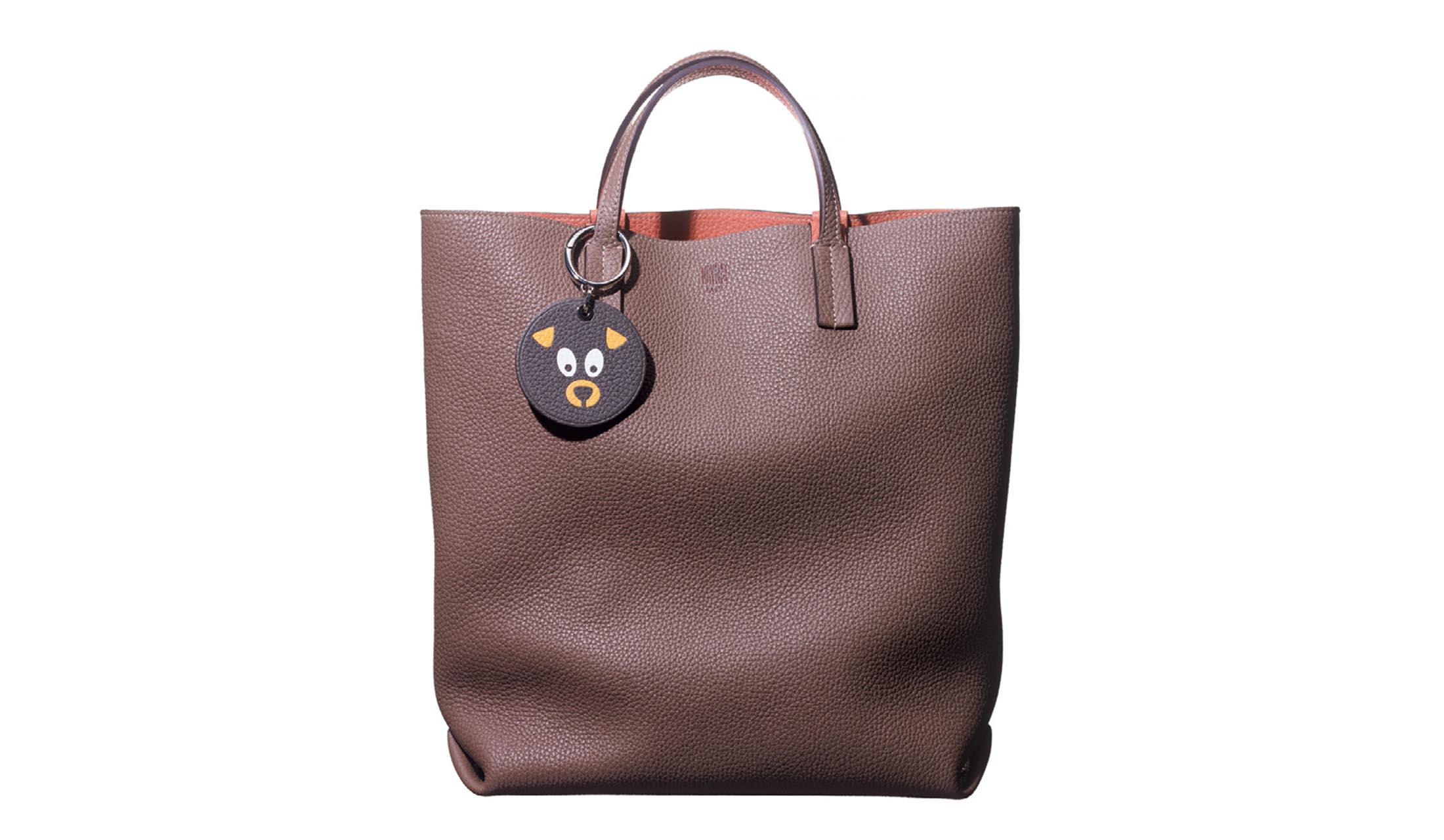 モワナの配色トートバッグ「クアトロ」