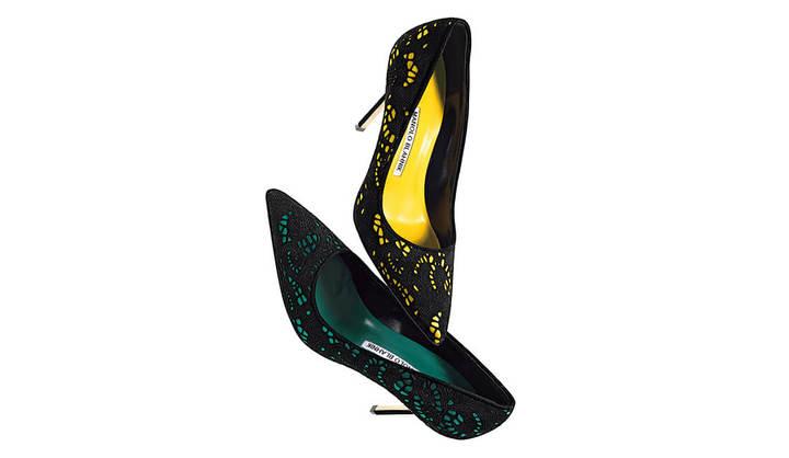 マノロ ブラニクのヒール靴「BB BORLI」
