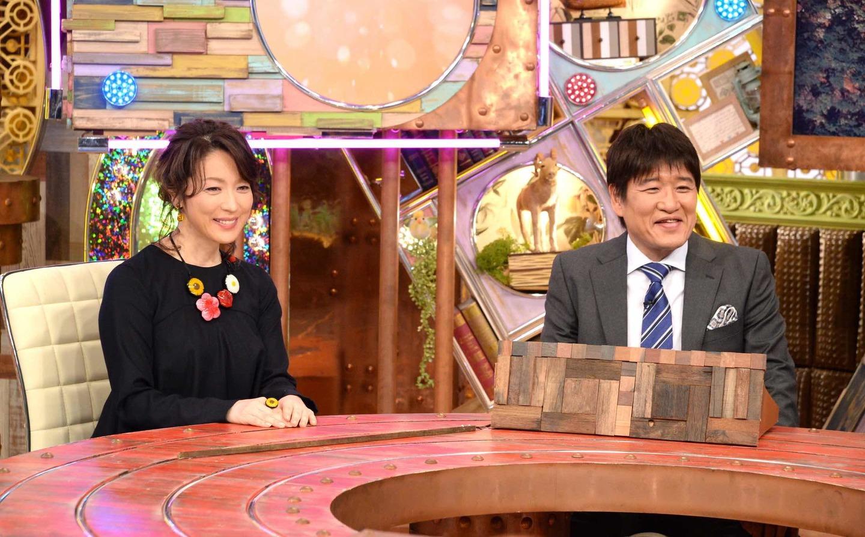 ポツンと一軒家 若村麻由美さんと林修さん ©ABCテレビ