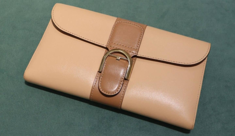 ヒラオインクの平尾さんのお財布