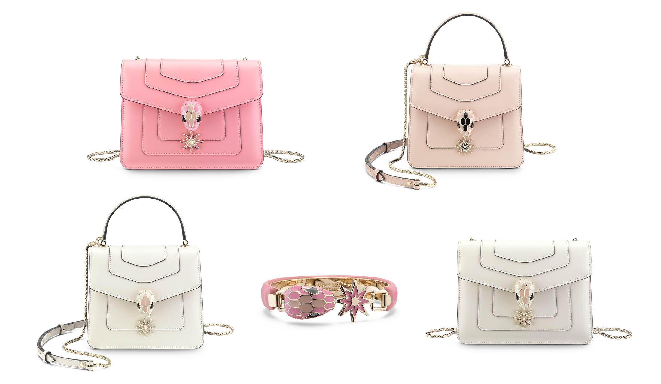 ブルガリの「セルペンティ」コレクションのバッグ