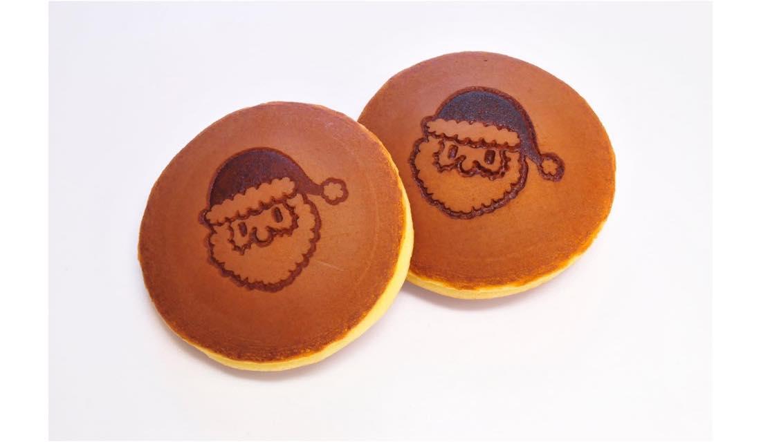 クリスマス限定 サンタクロース焼印入り 桔梗信玄餅どら
