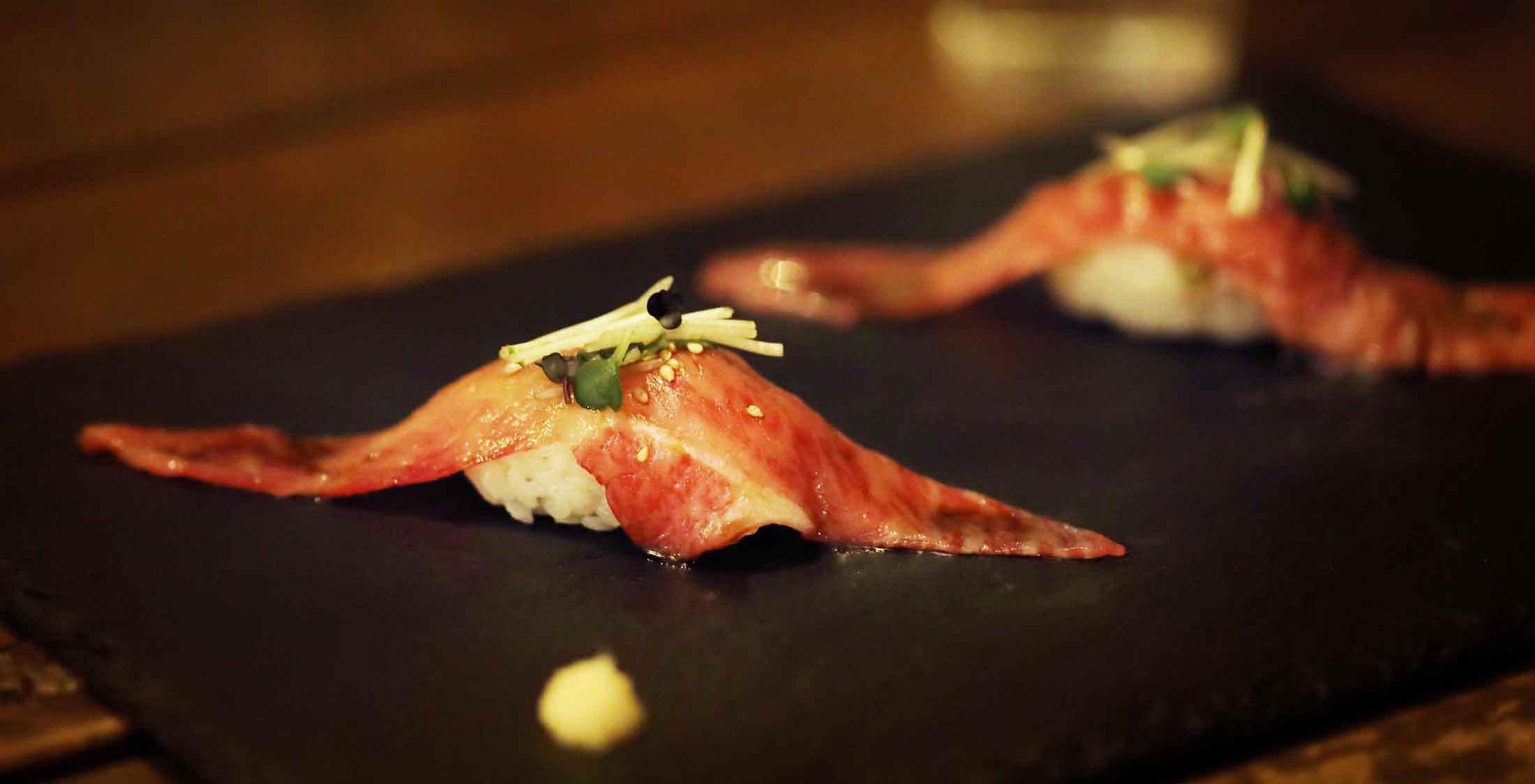ステーキ寿司
