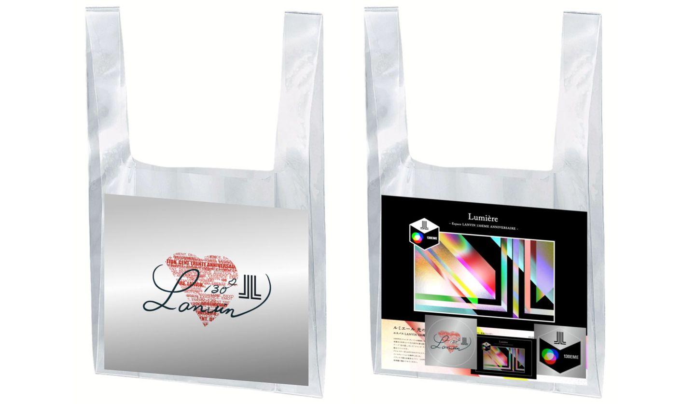 LANVIN (ランバン)130周年限定PVCバック(イベントフライヤー・ステッカーセット)