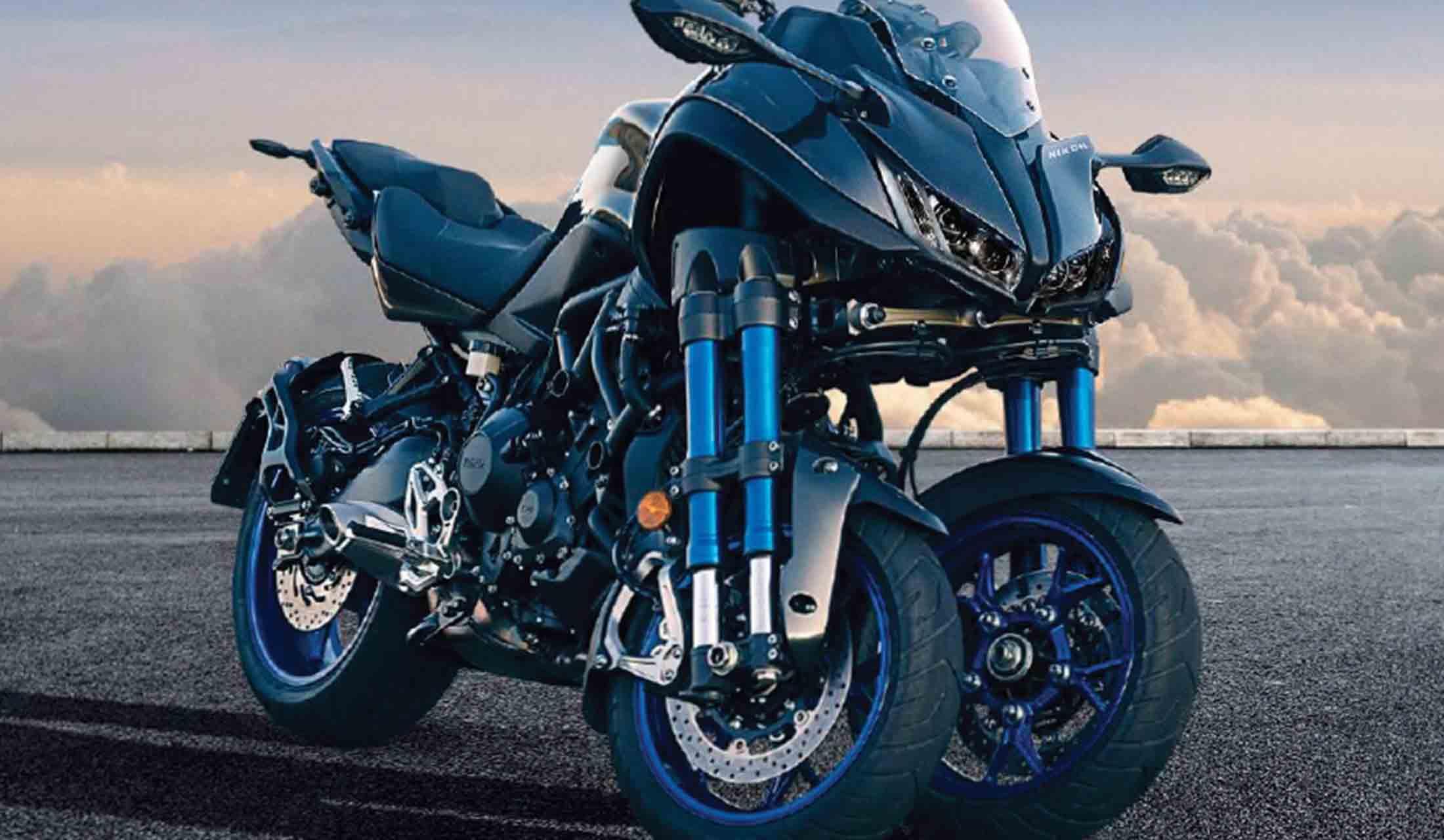 YAMAHAの3輪バイク、NIKEN