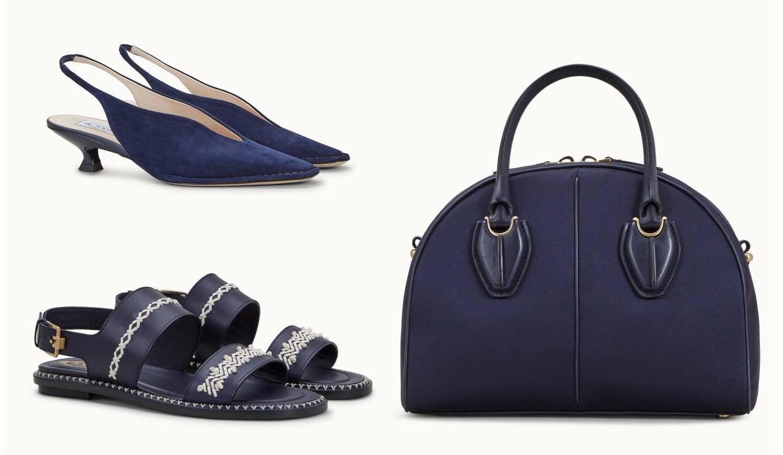「Mame Kurogouchi(マメ クロゴウチ)」とコラボした「トッズ T ファクトリー」のバッグと靴