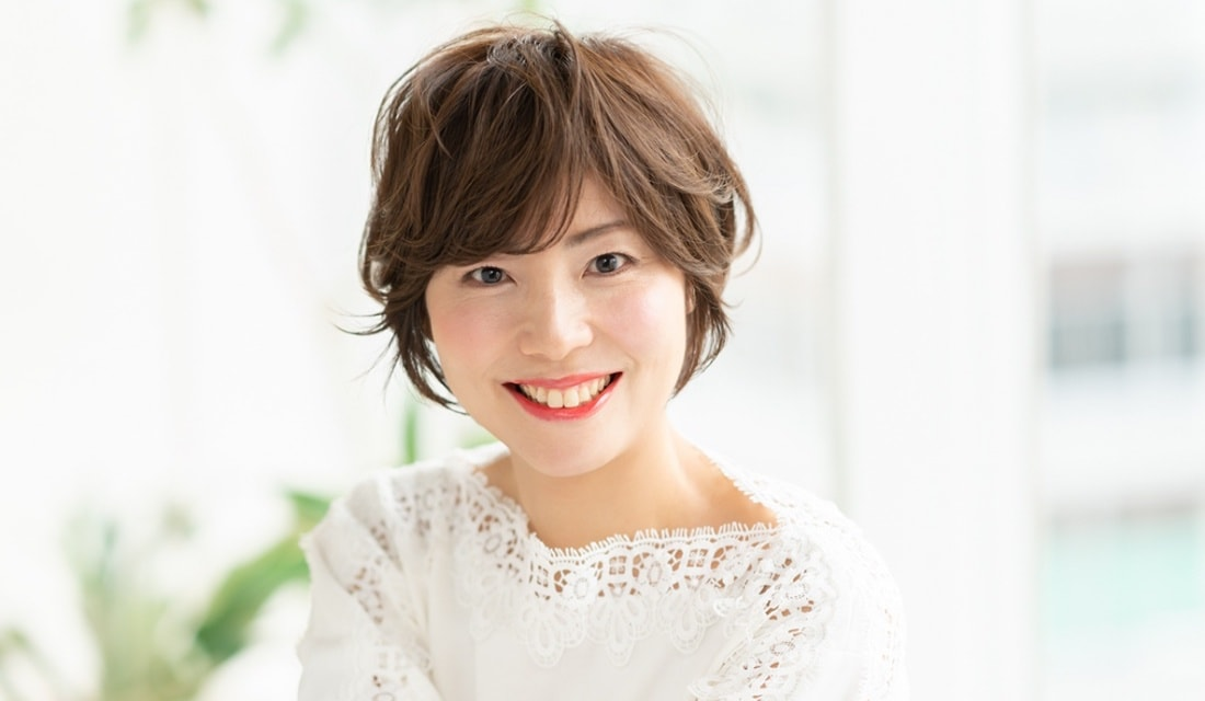 美容室RamieGINZAマネージャーの加藤貴大さんが手がけたショートヘア