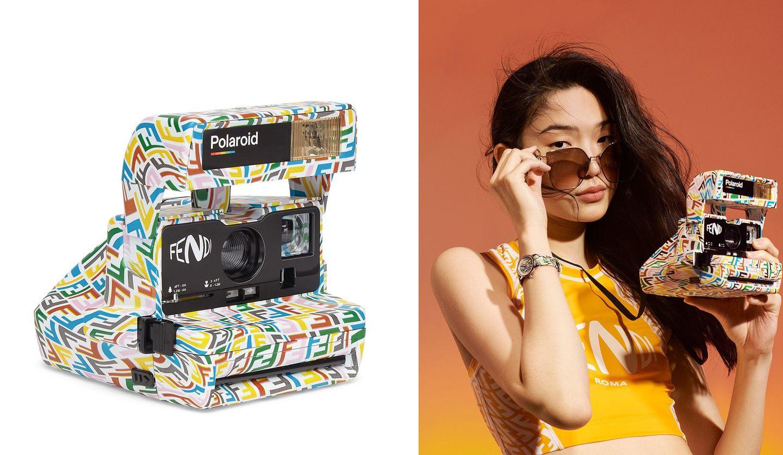 フェンディの限定デザインポラロイドカメラ