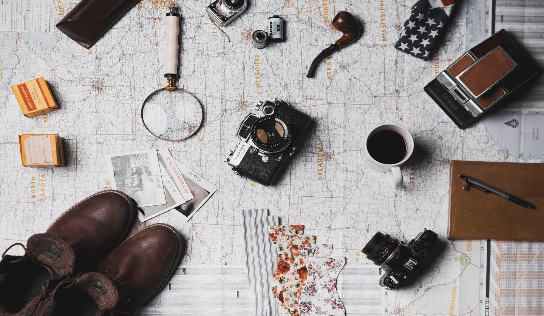 カメラや懐中時計
