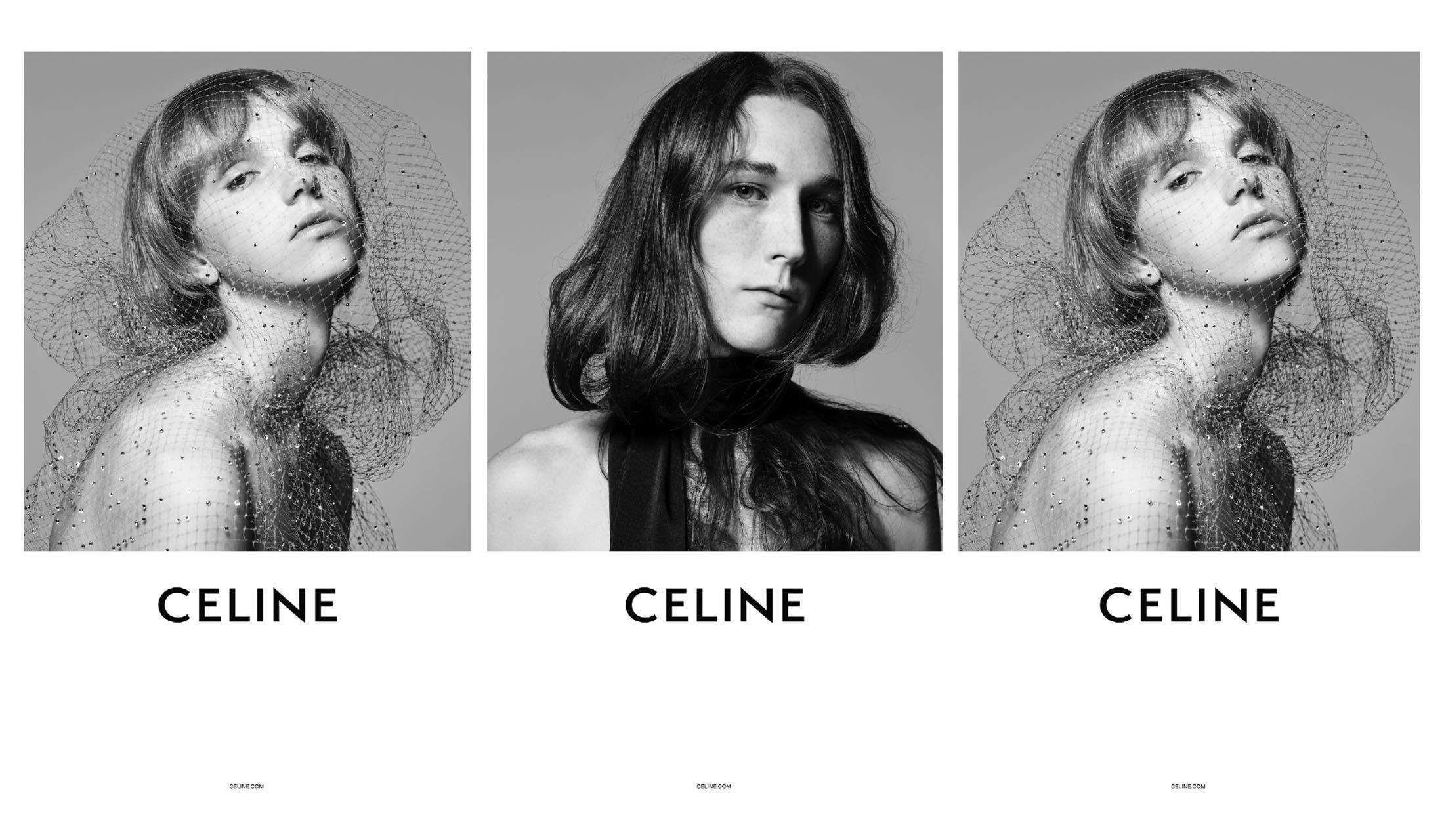 CELINE(セリーヌ)によるキャンペンビジュアルの画像