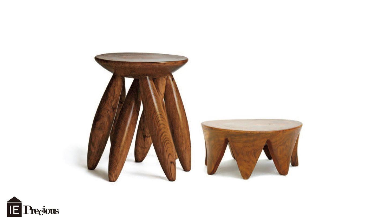 ババグーリの一本彫りの椅子