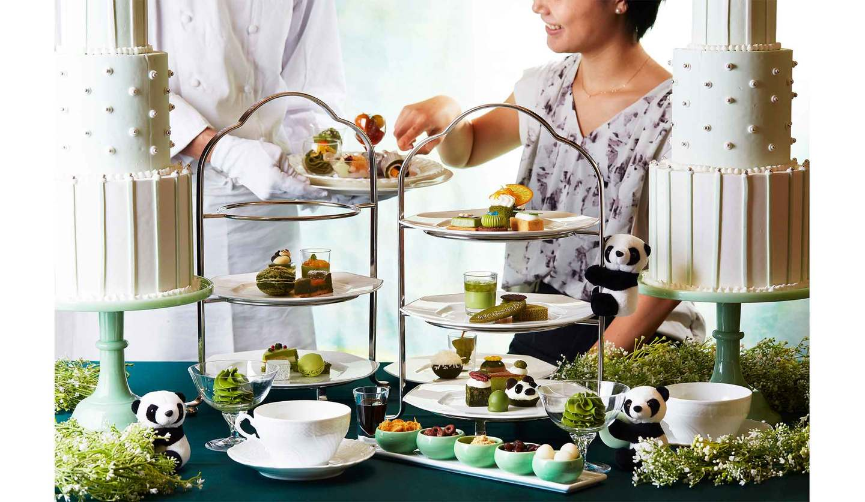 ANAインターコンチネンタルホテル東京で提供される「抹茶プライベートブッフェ」