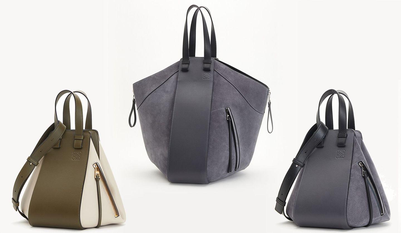 ロエベ「ハンモック」バッグの新カラー