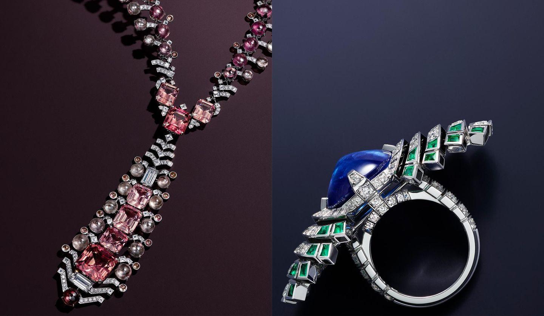 カルティエの新ハイジュエリーコレクション「シジエム サンス パル カルティエ」のネックレスとリング