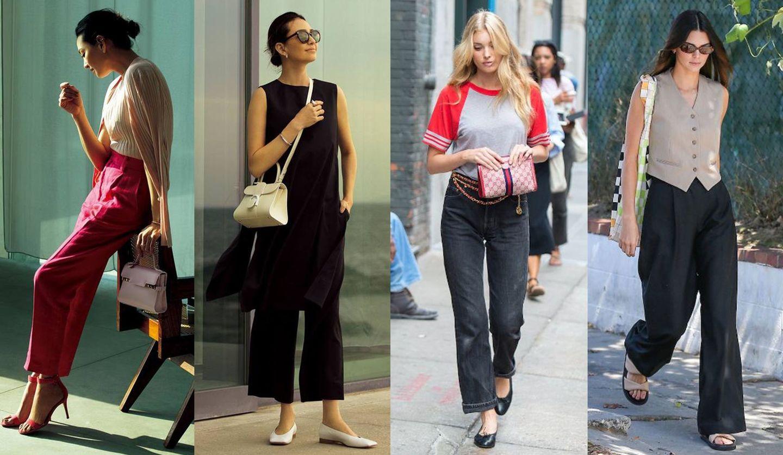 『Precious』6月号の人気コーディネート、「黒パンツ」を着こなすセレブスナップ