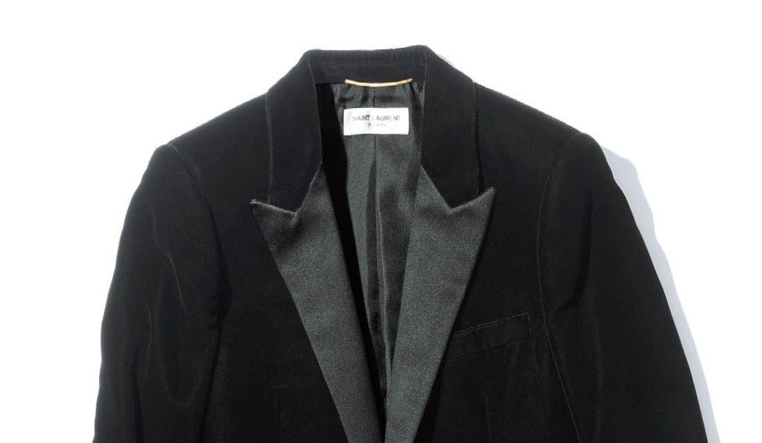 イヴ・サンローランのスモーキングジャケット