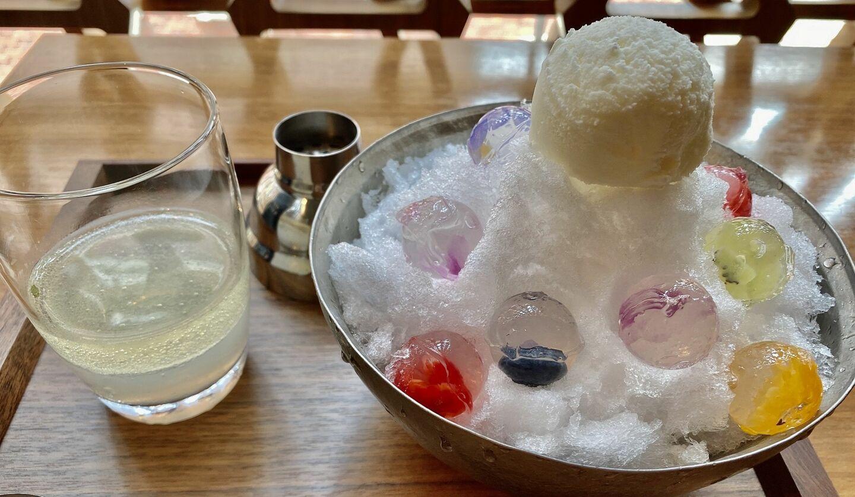 レクサスかき氷