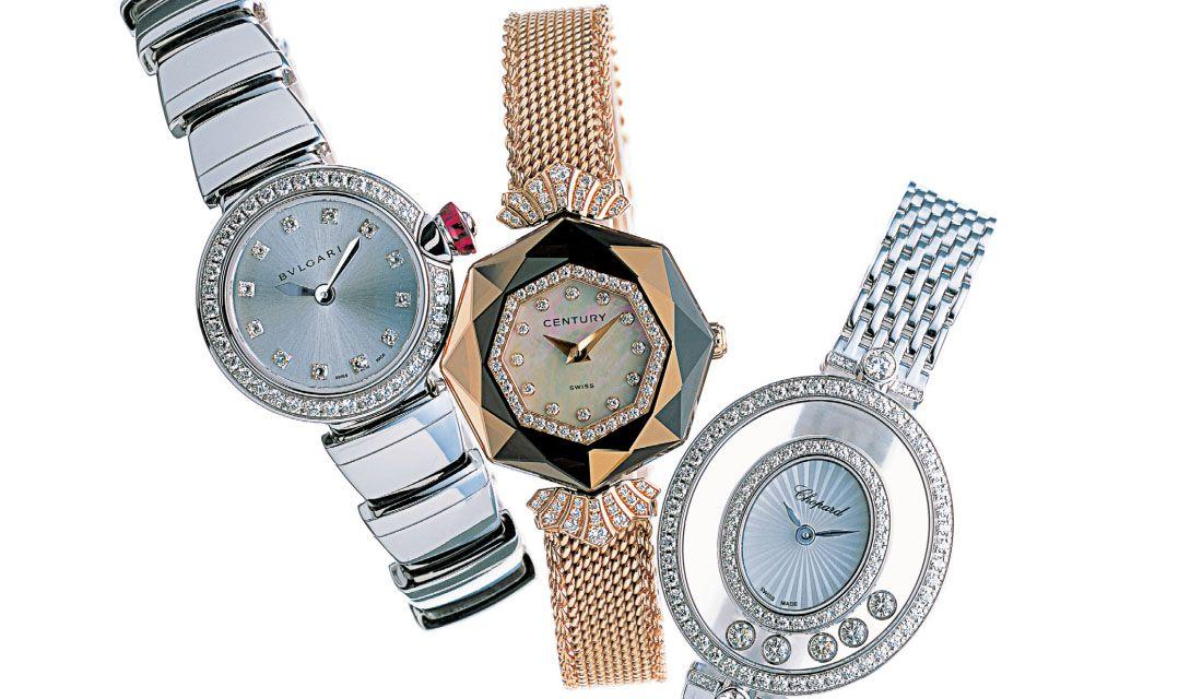 ブルガリ、センチュリー、ショパールのブレスレット時計