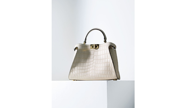 フェンディのクロコダイルのバッグ