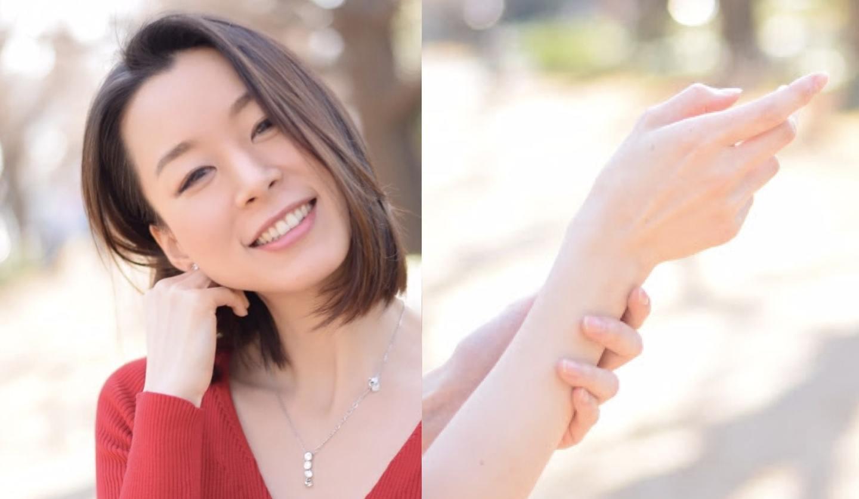 日本初の「手肌の若返り」の専門家の美しい手元