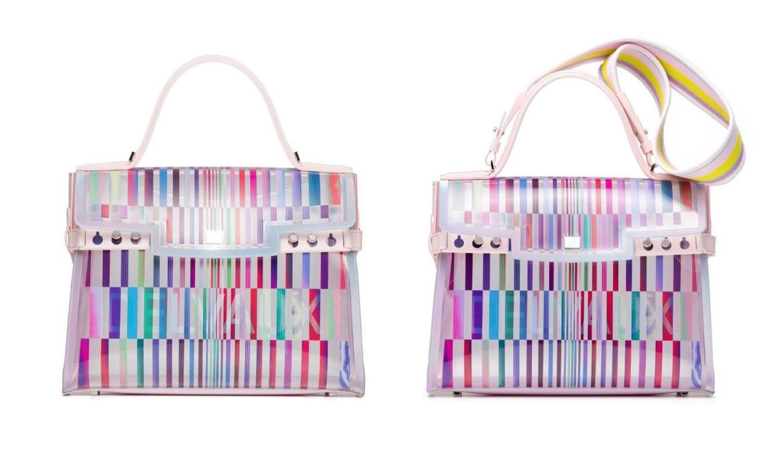角度や光で表情が変化するデルヴォーの新作バッグ