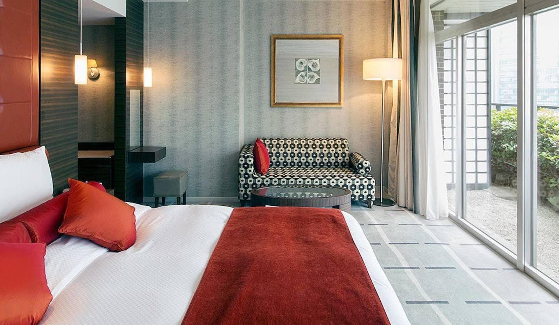 ホテルオークラ東京の部屋の内観