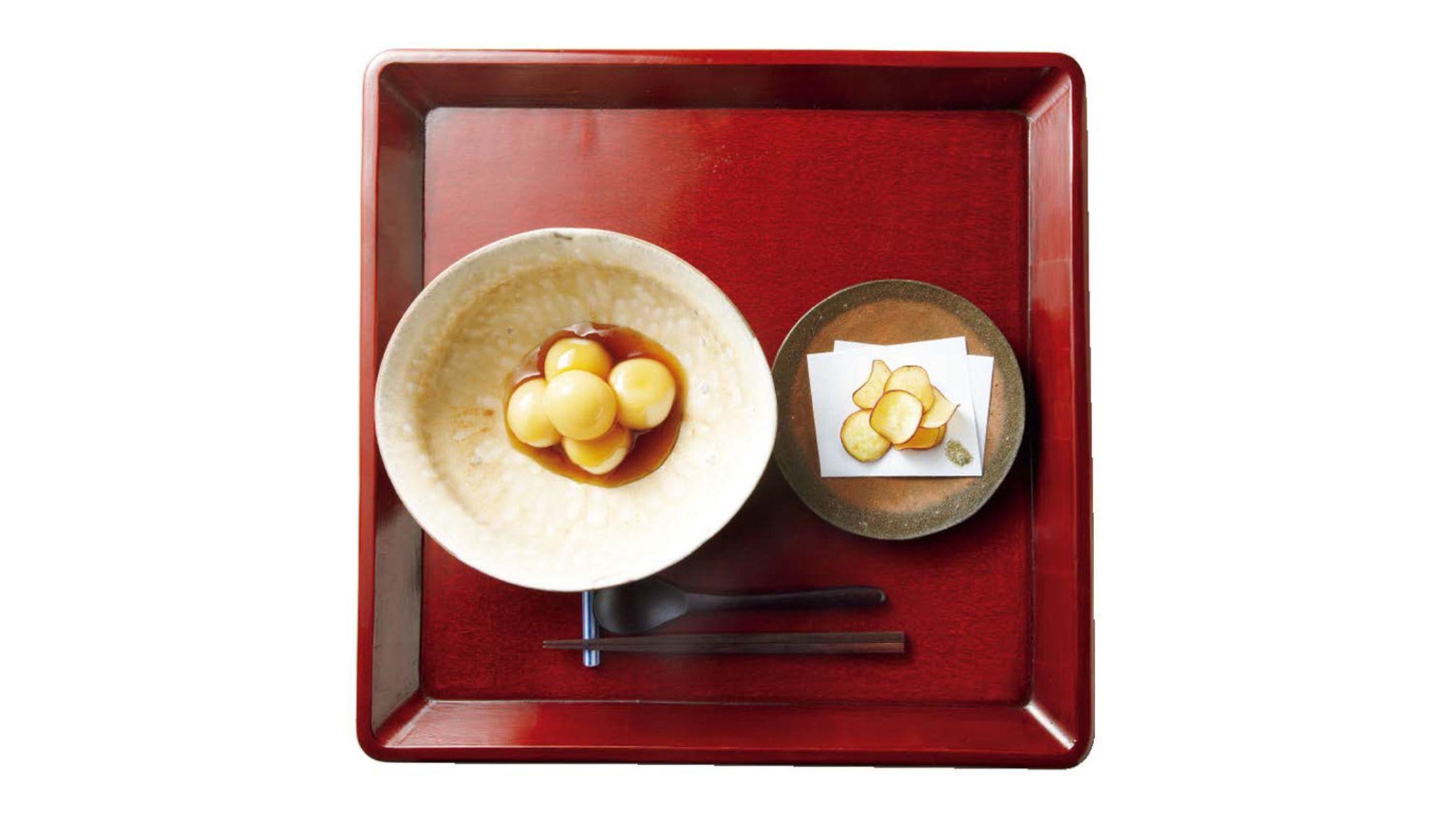 茶菓円山の栗のみたらし団子