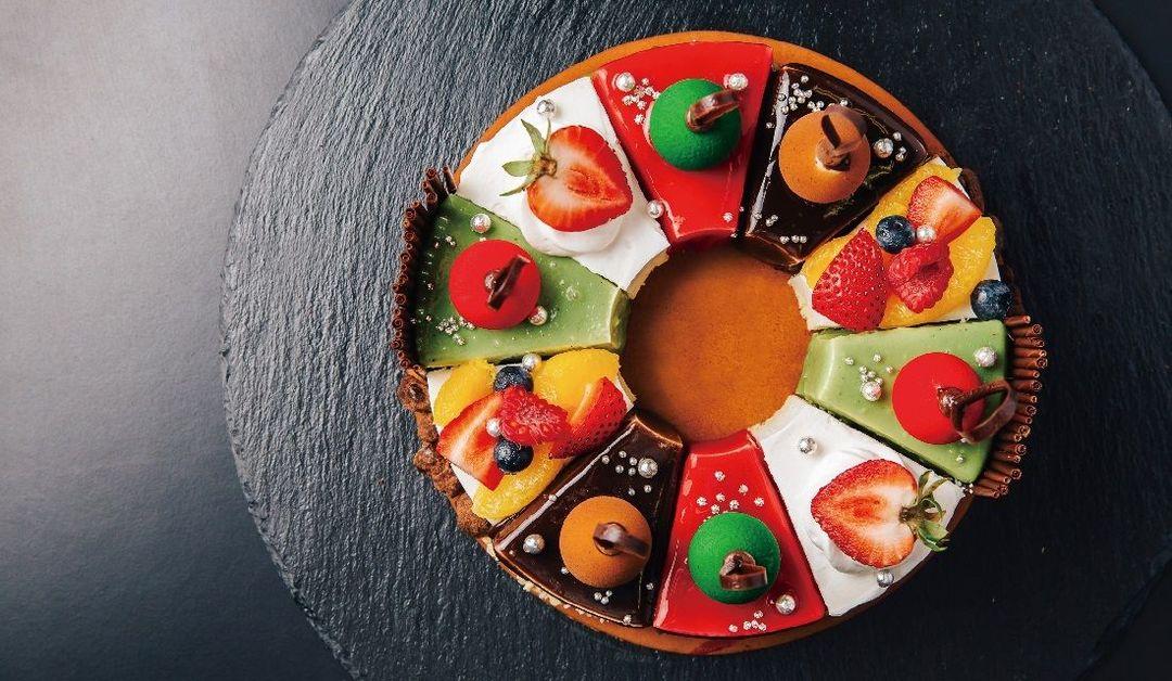 新横浜プリンスホテルのクリスマスケーキ「シェアハピネス」の画像