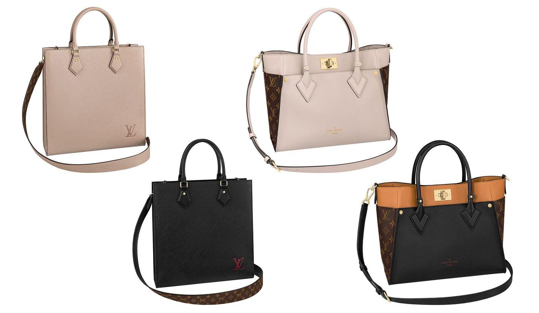 ルイ・ヴィトンの新作バッグ「サックプラ PM」と「オンマイサイド MM」