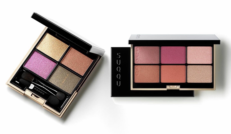 2020年8月1日に発売される、SUQQUの「デザイニング カラー アイズ」の限定色、限定パレット「パウダー ブラッシュ コンパクト」