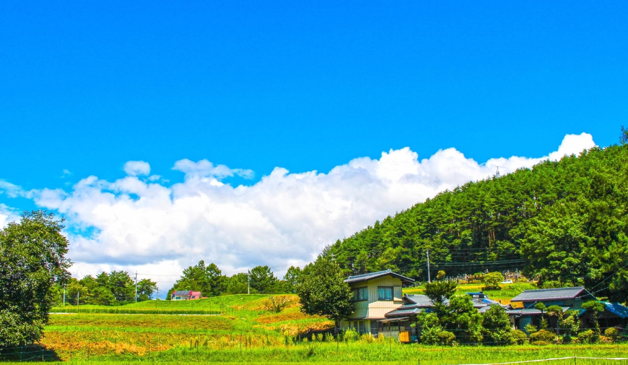日本の故郷の原風景
