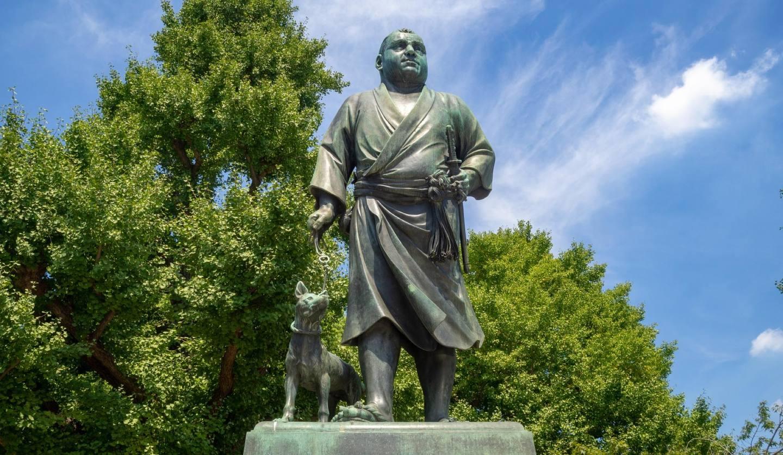 上野公園西郷隆盛像