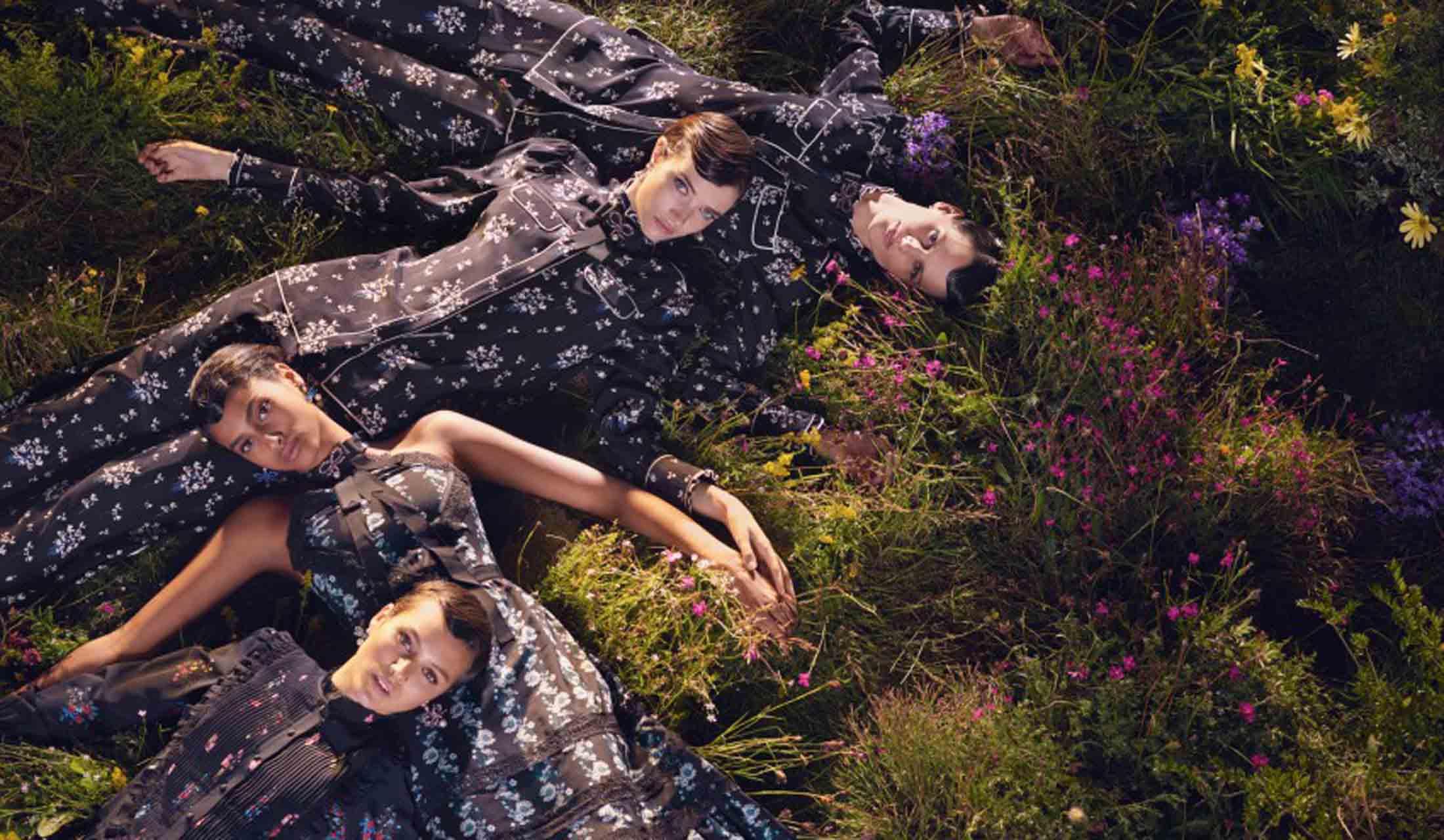 ERDEM x H&Mのキャンペーンビジュアル