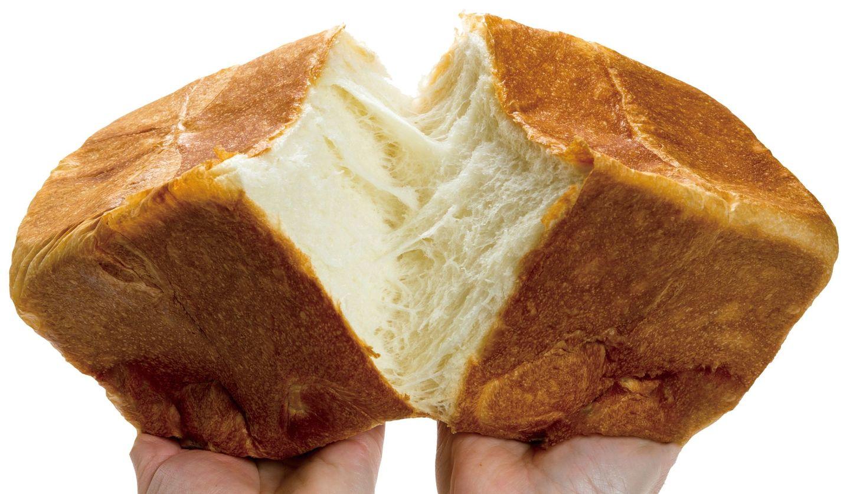 高級食パン専門店「迷わずゾッコン」の食パンイメージ