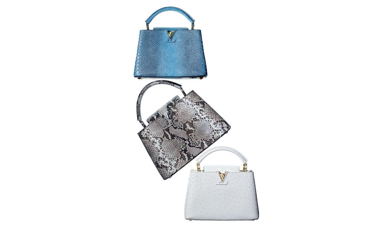 ルイ・ヴィトンのバッグ「カプシーヌ」