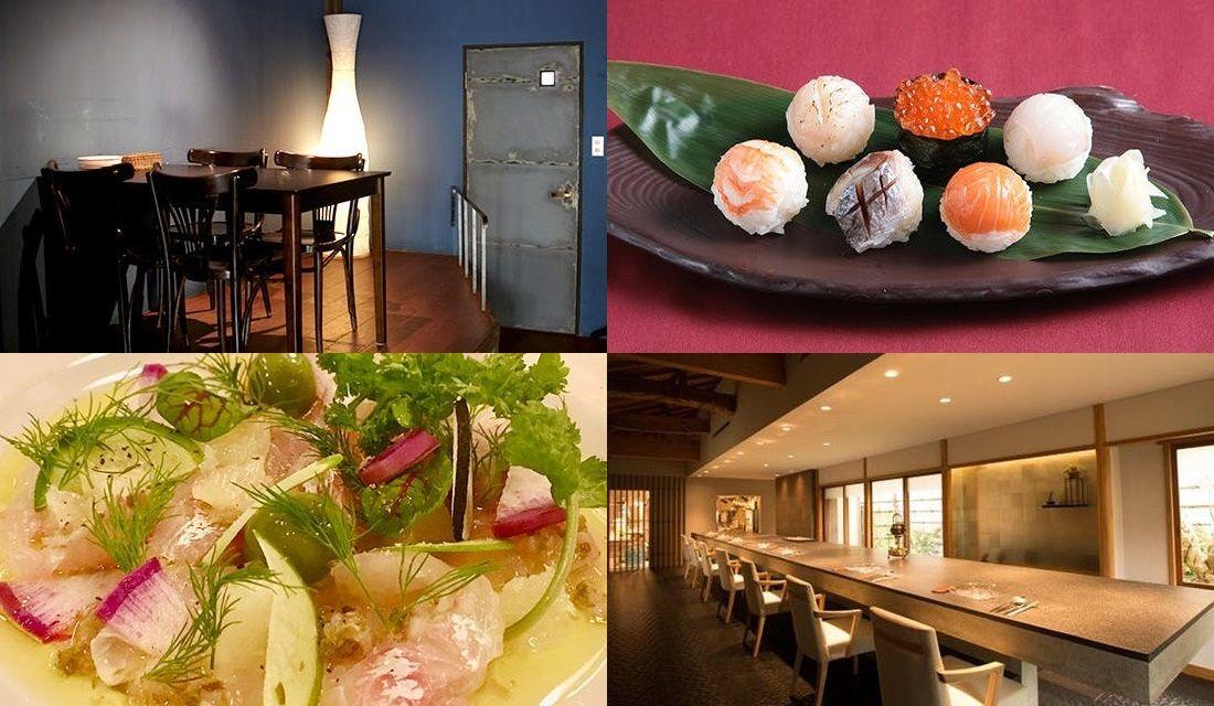 鎌倉のレストランのメニュー、内観写真4枚